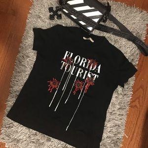 Florida Tourist Off-white t shirt